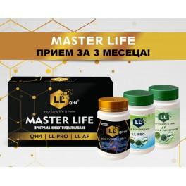 MASTER LIFE BOX QH4 + LL-PRO + LL-AF-01 капсули 3x30бр.